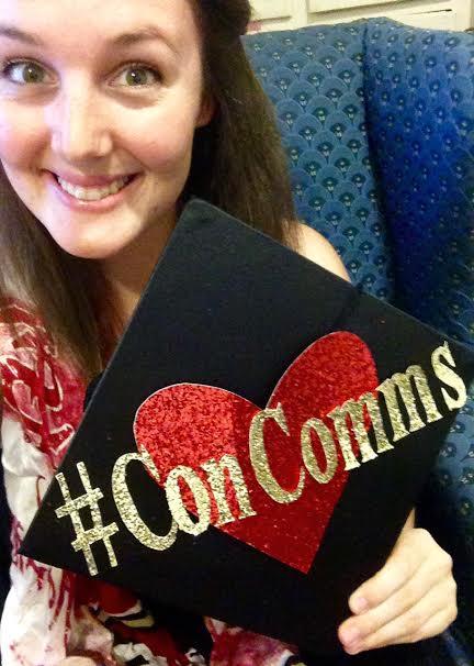 #ConComms Grad Cap
